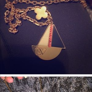 ISO a LV boat necklace like this one.